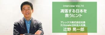 辻野晃一郎 講演会講師インタビュー